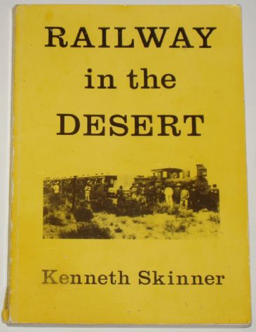 Railway in the Desert, by Kenneth Skinner